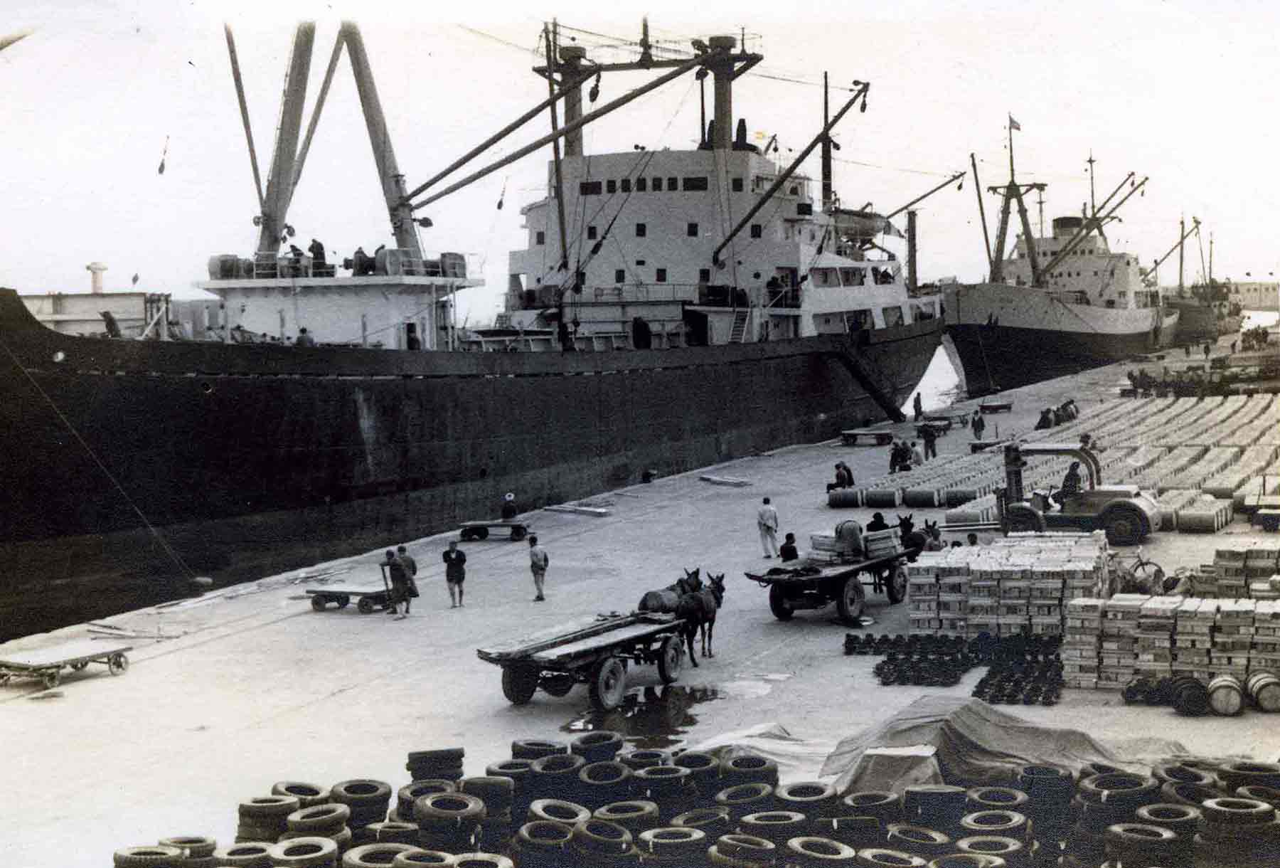 Harbour Sfax 1972