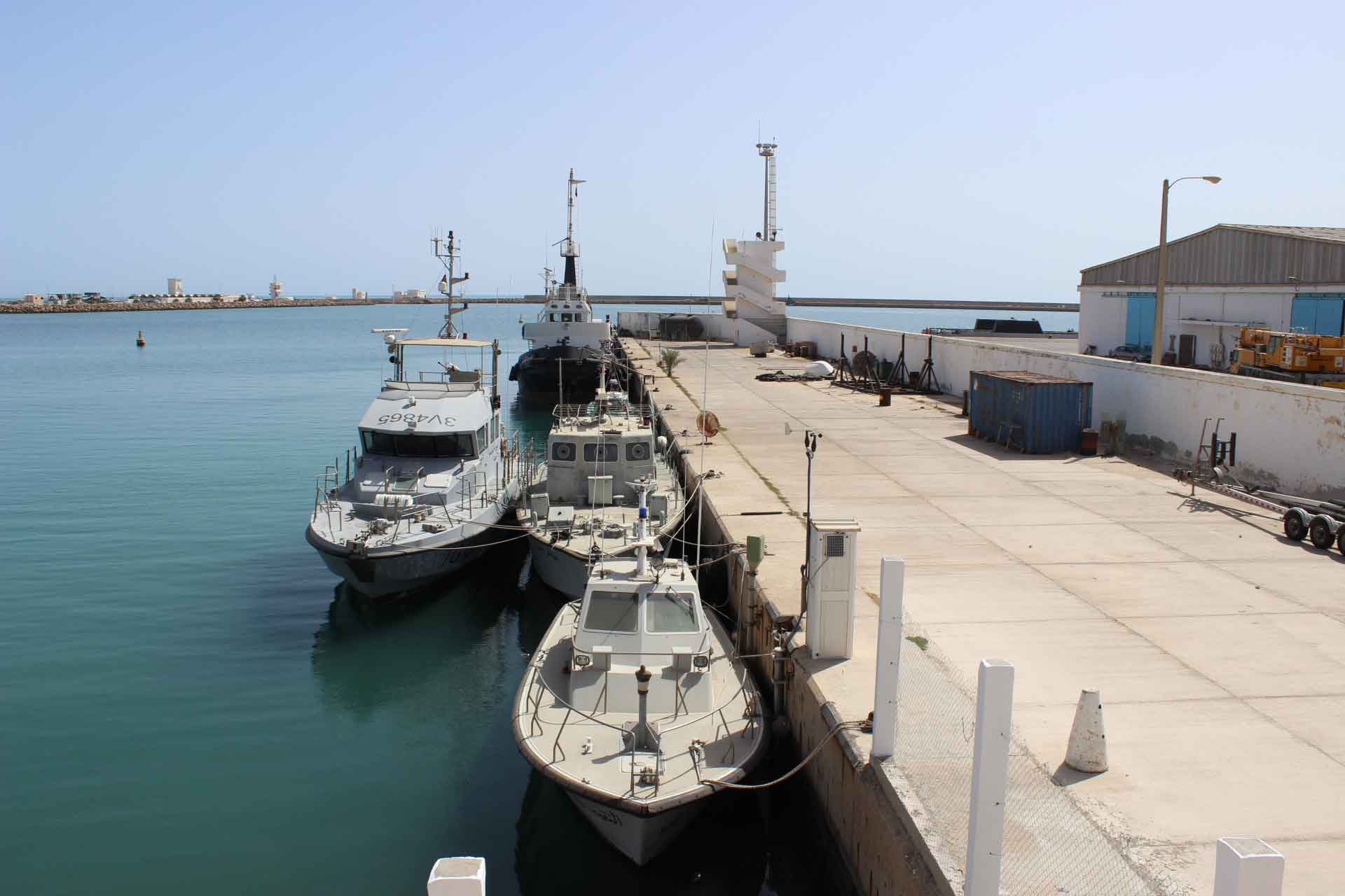 LE PORT DE COMMERCE DE ZARZIS